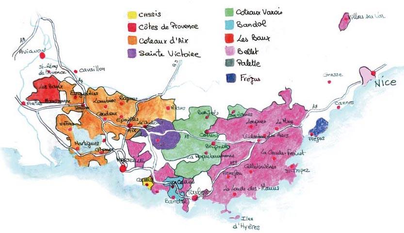 provence viticole